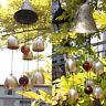 Ancient Clock 6 Metal Copper Bells Hanging Wind Chimes Garden Garden Decor Gift