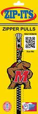 "Maryland Terrapins ""Mascot"" Zipper Pull"