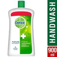 Dettol Original Hand Wash pH Liquid Soap Jar Kills 99.9% Germ 900 ml/30.43 oz