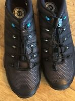 SHIMANO SH-MT44L MEN'S MTB SHOES, BLACK, SIZE UK 9.5, EU 45
