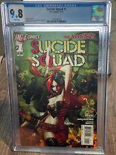 Suicide Squad #1 CGC 9.8 HARLEY QUINN 2011 DC NEW 52 SERIES TOP CENSUS NM/MT