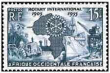 Timbre Rotary International AOF 53 * lot 29133