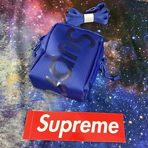 SUPREME NECK POUCH ROYAL SS21 BRAND NEW SEALED/ 100% AUTHENTIC Ships Today NWT