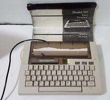 Texas Instruments Silent 700 Portable Electronic Data Terminal Typewriter