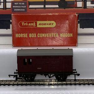 TRIANG HORNBY OO Gauge R.578. HORSE BOX CONVERTER WAGON (75)