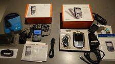 BlackBerry Curve 8310 and 8700c - Silver (AT&T) Smartphones TWO in original box