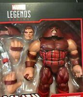 "Marvel Legends 6"" Comic 80 Years Juggernaut Classic X-Men Cain Marko New LOOSE"