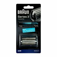 Braun 32B Series 3 Electric Shaver Replacement Foil and Cutter Cassette - 340S4