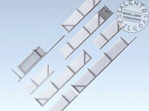 FALLER 180433 recinzione metallica con cancello - 101 cm - scala 1:87