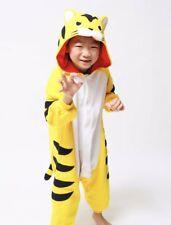 Kigurumi Kids Yellow Tiger Costume Fits 3-5 Preowned