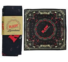 New! RAW Rolling Papers Black Bandana