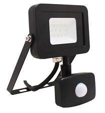 10 W haute qualité noir haute puissance PIR Slim DEL Flood Light -12 M Range-ukew