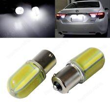 Lot 2 Ampoules 8W LED 1156 Ba15s P21W COB Feux de jour recul Blanc Xenon 6000K