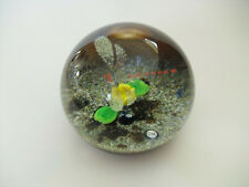 """Boxed Ltd Ed Selkirk Glass """"Dragonfly"""" Paperweight(59/250) - PH Cane - <3 1/8"""""""