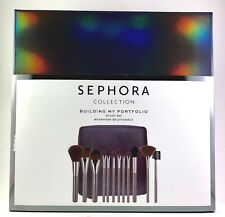 SEPHORA Building My Portfolio Brush Set 12 Brushes Limited Edition New in Box