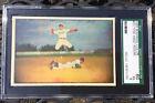 1953 Bowman Color #33 Pee Wee Reese Brooklyn Dodgers SGC 5 EX 60