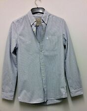 "Mens JACK WILLS Black, Grey & White SHIRT Size XS  36"" Chest Boys Gents X-small"
