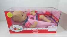 Fisher Price Baby So New Doll Little Mommy pink red ladybug outfit Torn box