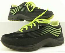 Dansko WOMEN'S Black & Green Shayla Comfort Gym Sneakers Size 38 EUR
