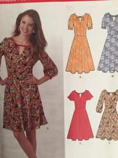 LOOK 6224 Boho Dress Sewing Pattern Size 10 – 22 Uncut