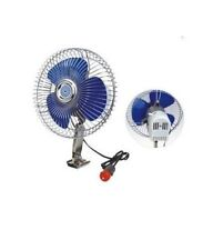 12v Car Fan 2 Speed Metal Grill RV Truck Summer Cooling Portable Auto Fans