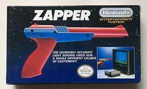 Nintendo NES Zapper New Very Rare Nintendo Entertainment System Official Gun NEW