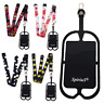 Spirius Neck Strap Lanyard with silicone Universal Mobile Phone Holder