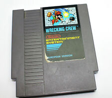 WRECKING CREW 1985 NINTENDO ENTERTAINMENT SYSTEM NES SPIEL EUROPEAN VERSION MODU
