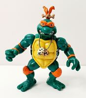 """1993 TMNT Teenage Mutant Ninja Turtles Cave Turtle Mike Loose 5"""" Action Figure"""