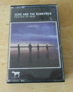 Echo and the Bunnymen cassette Heaven up Here, CODE 3