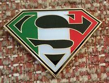 SUPER ITALY / SUPERMAN Lapel Pin