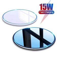 15W Qi Wireless Charging Charger Pad For iPhone 12 11 Pro XR Max Samsung S10+