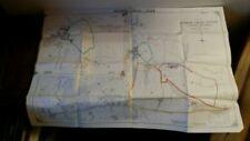 Vintage Original 1940-1949 Date Range Antique Folding Maps