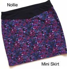 Nollie Juniors/ Women's Floral Mini Summer Skirt Size- Large