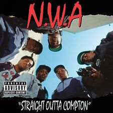 """NWA Straight Outta Compton 24"""" x 24""""Album Cover Poster Print Rap Music Gangster"""