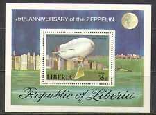 Liberia 1978 Zeppelin/Air Balloon/Aircraft m/s (n23456)