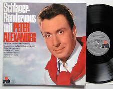 LP / PETER ALEXANDER - SCHLAGER RENDEZVOUS / DE 1967 / ARIOLA 76 955