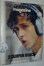 EQUIPE MAGAZINE N°210 1984 PERCHE QUINON FOOTBALL STARS CALCIO PLATINI FERRERI