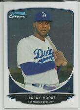 Jeremy Moore Kansas City Royals 2013 Bowman Chrome Prospect