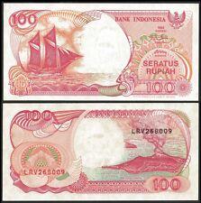 Indonesia 100 RUPIAH 2000 P 127h UNC