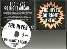 THE HIVES Go Right Ahead w/ RARE EDIT TST PRES PROMO DJ CD Single 2012 MINT