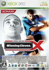 Used Xbox  360  Winning Eleven X MICROSOFT JAPAN JP JAPANESE JAPONAIS IMPORT