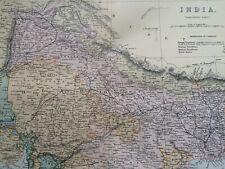 Bengal East Indian Railway Calcutta-raniganj Dispatch Atlas 1863 Map Weller