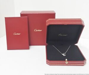 Cartier Eternal Love Collection 18K Gold Diamond Marriage Pendant Org Box&Papers