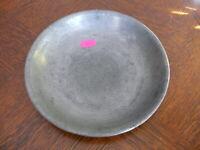 Rarität kleiner alter ca. 200 Jahre alter Zinn Suppenteller oder Katzenteller n5