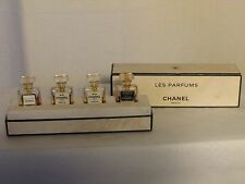 "rare coffret miniatures ""les parfums chanel paris"