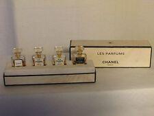 """rare coffret miniatures """"les parfums chanel paris"""