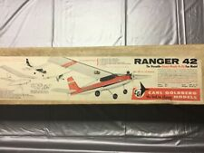 Radio control Carl Goldberg kit Ranger 42