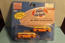 GMC TRANSIT BUS ( BOSTON MTA) 52304  N SCALE  mini metals