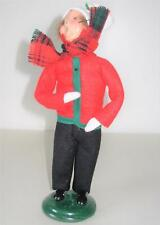 "Byers Choice Limited Edition 3/100 Caroler Boy 10"" Tall 1999"